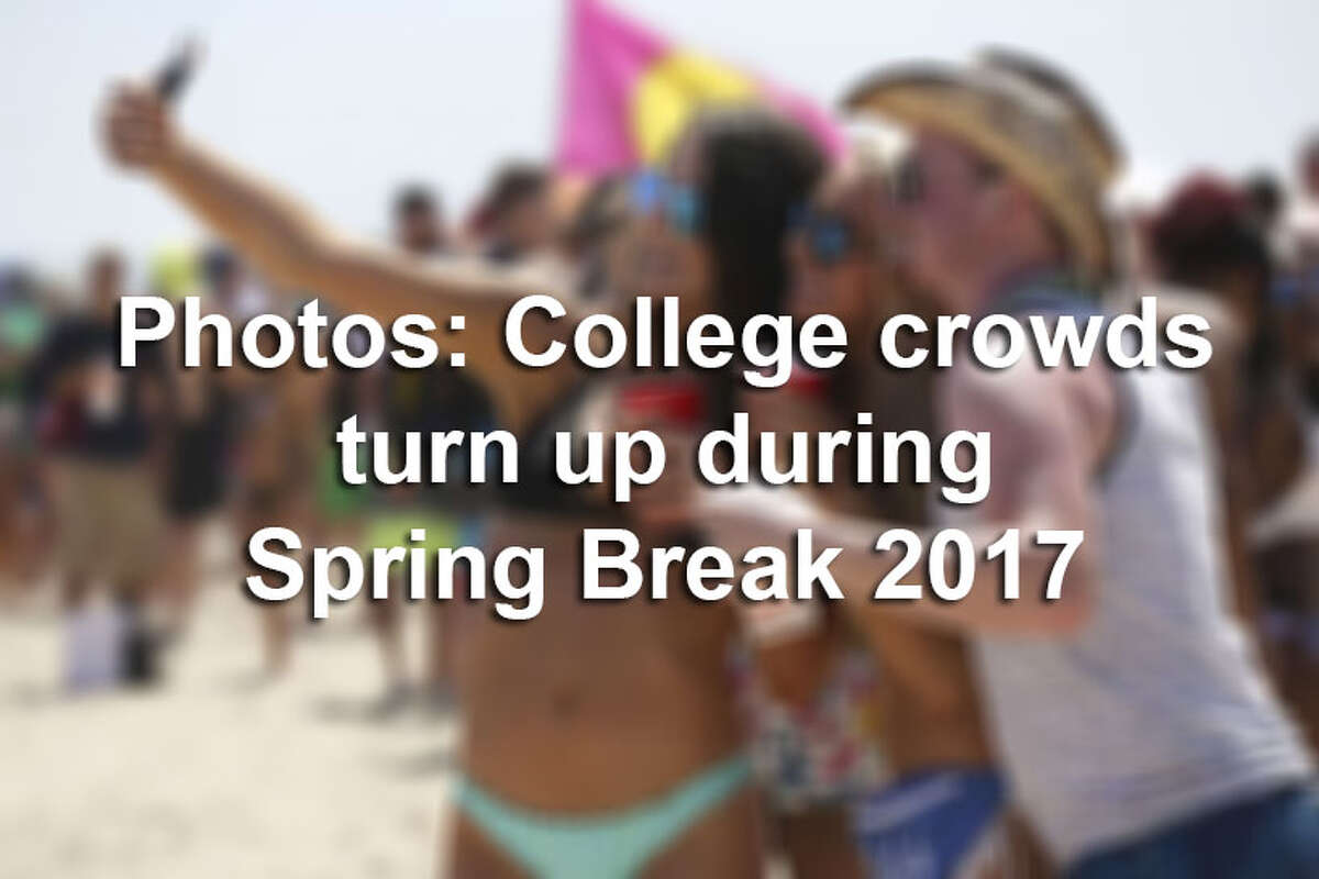Click through the gallery to see how college students partied at popular Spring Break destinations in 2017.