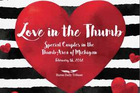These special married couples were nominated by readers to be featured in a commemorative section published in the Huron Daily Tribune on Valentine's Day.