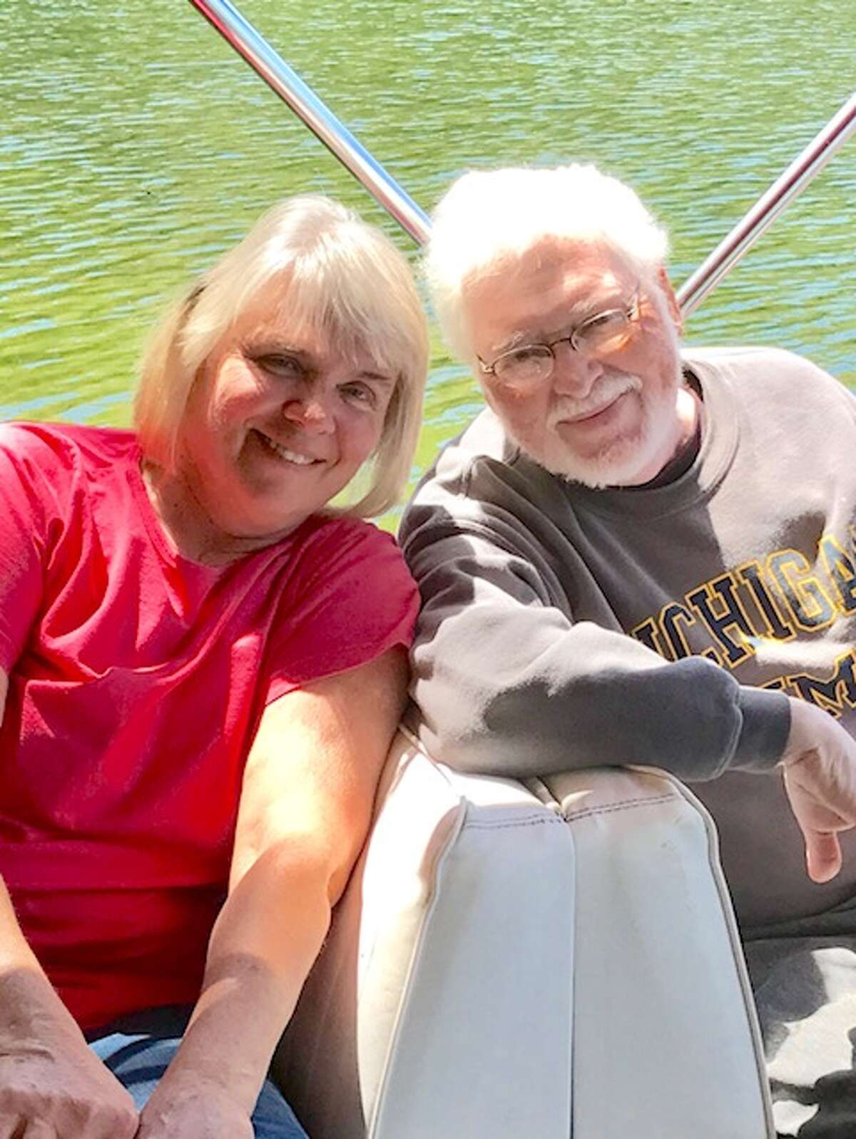 p.p1 {margin: 0.0px 0.0px 0.0px 0.0px; font: 12.0px Helvetica} Wayne and Joyce Keim, of Bay Port, have been married for 46 years.