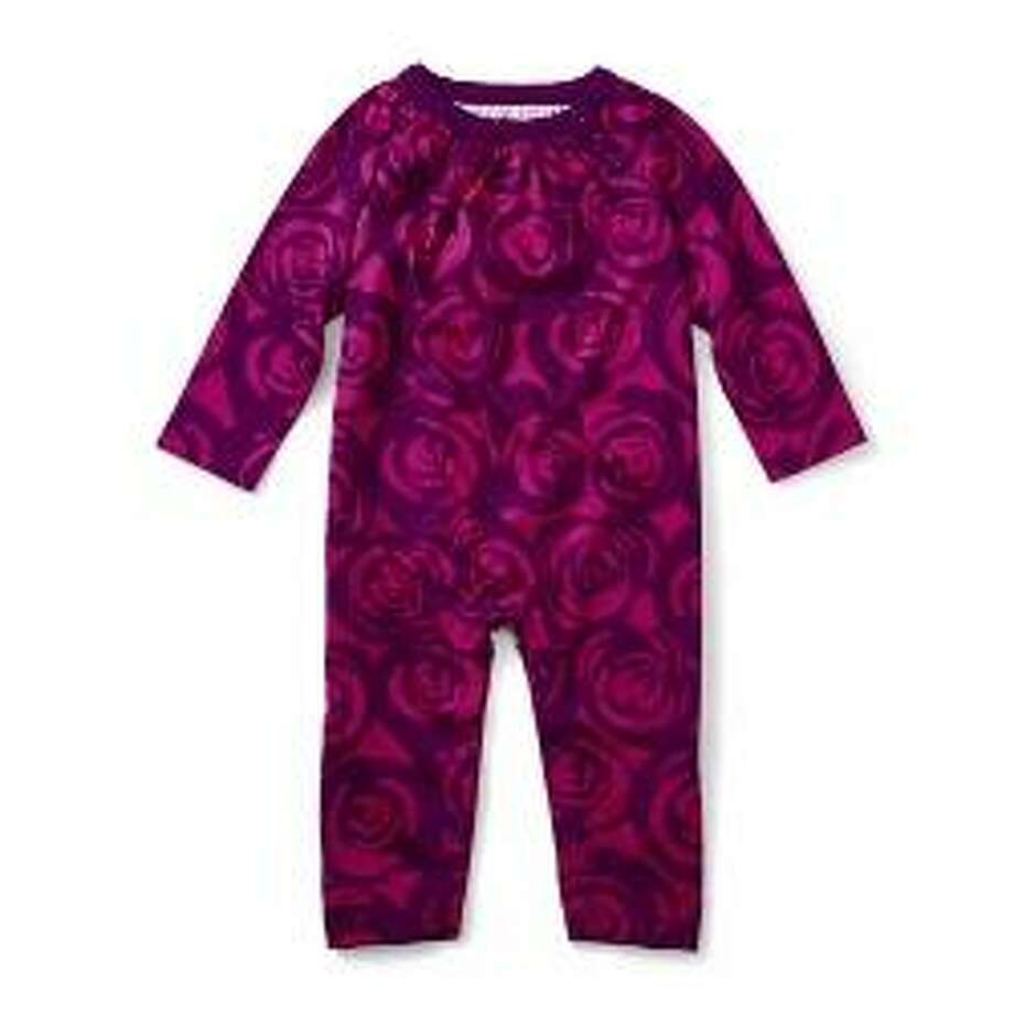 Tea Collection is recalling about 3,800 children's rompers because the snaps near the collar can detach, posing a choking hazard to young children. Photos courtesy of the Consumer Product Safety Commission. Photo: Contributed / Contributed