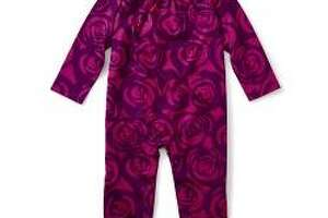 Tea Collection is recalling about 3,800 children's rompers because the snaps near the collar can detach, posing a choking hazard to young children. Photos courtesy of the Consumer Product Safety Commission.