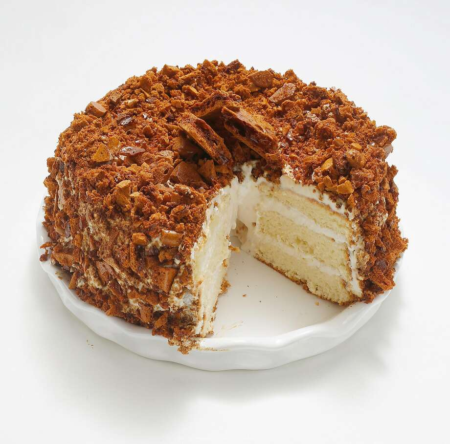 Recipe Blum S Coffee Crunch Cake San Francisco Chronicle