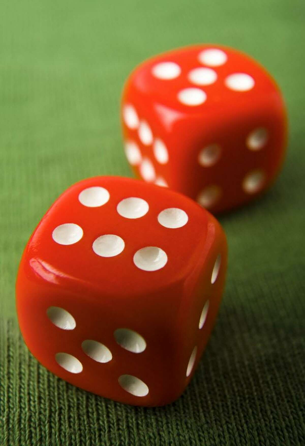 The number 11: on a pair of dice, in the spotlight, on a roulette wheel. Credit: Fotolia