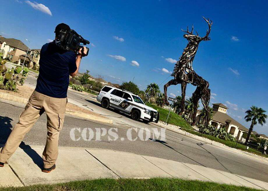 COPS wrapped up filming in Bexar county and has behind-the-scenes photos to share of their adventures. Photo: Courtesy, COPS