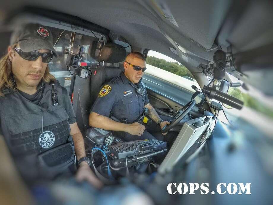 """'""""COPS"""" filmed in 2018 in Bexar County. Photo: Courtesy, COPS"""