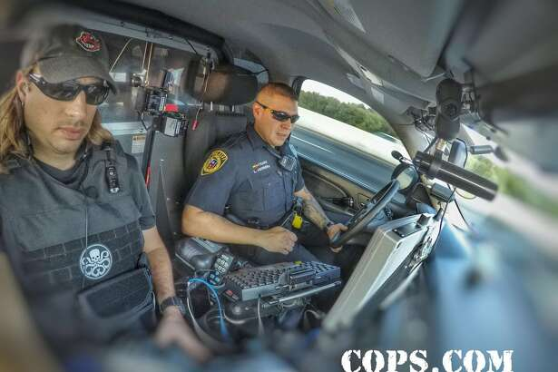 COPS wrapped up filming in Bexar county and has behind-the-scenes photos to share of their adventures.