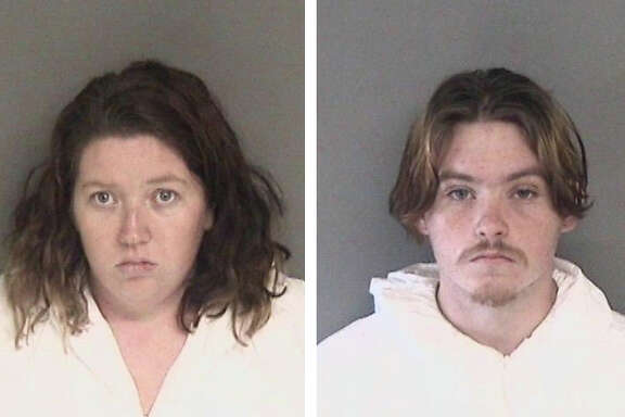 Melissa Leonardo, 25, of Modesto (left), andDaniel Gross, 19, of Modesto, right, were being held in Santa Rita Jail on murder charges in the fatal stabbing of Lizette Andrea Cuesta.