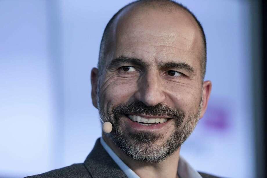 Uber chief executive Dara Khosrowshahi Photo: Photo For Bloomberg By Simon Dawson / © 2018 Bloomberg Finance LP