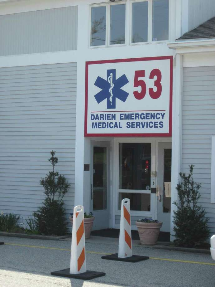 A shot of the front of Post 53, Darien's Emergency Medical Service for more than 40 years. The service responds to more than 1,300 calls a year, and has a staff of more than 100 members, half of them teenage volunteers. - Photo by John H. Palmer Photo: File Photo / ST / Darien News