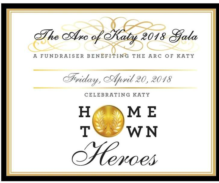 The Arc of Katy 2018 Gala – Celebrating Katy Hometown Heroes will be Friday, April 20, at Omni Houston Hotel at Westside, 13210 Katy Freeway in west Houston, from 6:30-10:30 p.m.
