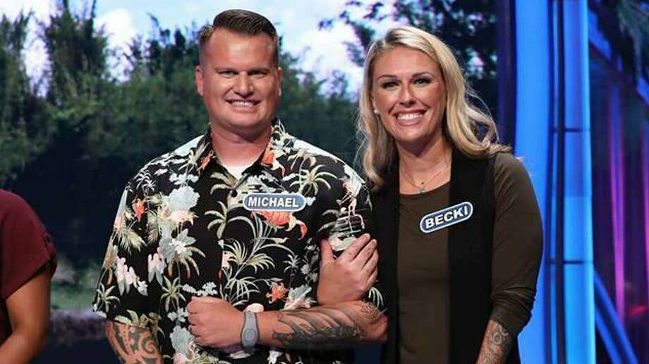 "San Antonio's Michael Babcock, a soccer coach at Madison High, and his wife, Becki Babcock, an elementary school teacher here, can be seen competing together on tonight's ""Wheel of Fortune."" Photo: Courtesy Photo"