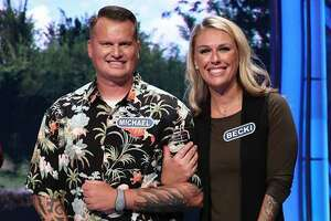 """San Antonio's Michael Babcock, a soccer coach at Madison High, and his wife, Becki Babcock, an elementary school teacher here, can be seen competing together on tonight's """"Wheel of Fortune."""""""