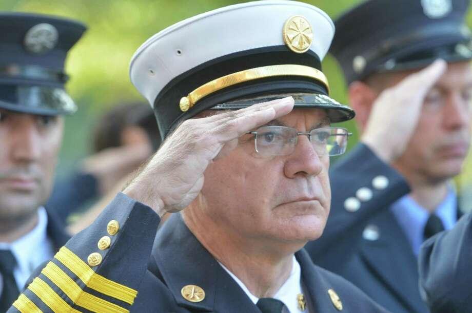 Gino Gatto will be offered the fire chief position for Norwalk. Photo: Alex Von Kleydorff / Hearst Connecticut Media / Norwalk Hour