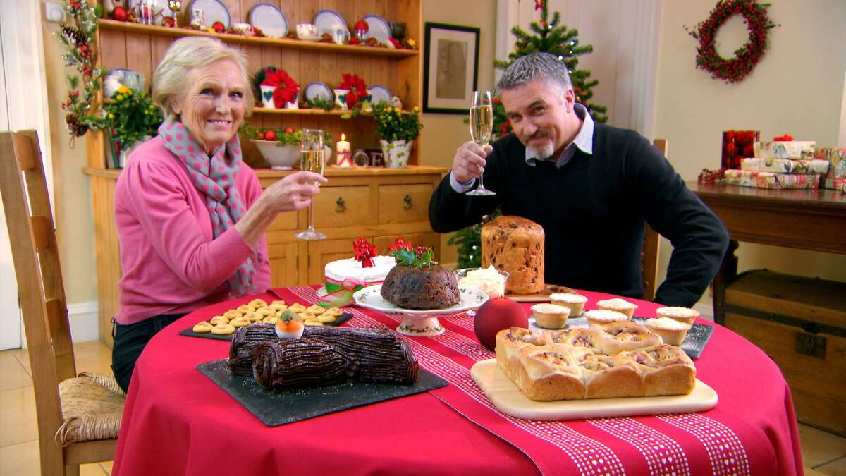 Mary Berry and Paul Hollywood taste it all.