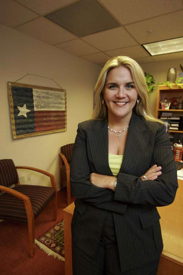 Jenifer Sarver is the Editorial Board's pick in Congressional District 21's GOP Primary. She is rare in this race — a Republican willing to call out President Trump. Photo: Micah Walter /Micah Walter / Freelance