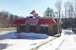 The former Kentucky Fried Chicken at 100 New Hartford Road in Winsted, as seen Tuesday.