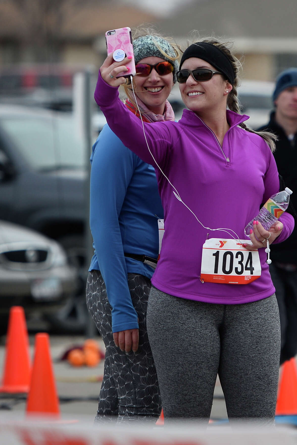 Heart and Sole 5K Feb. 10, 2018, at the Midland YMCA. James Durbin/Reporter-Telegram