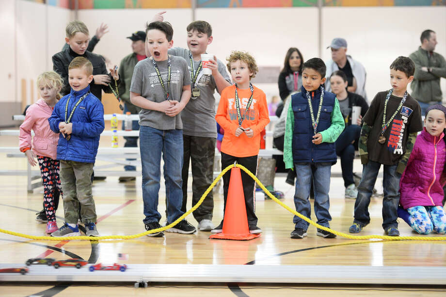 YMCA Indian Guides derby car race Feb. 10, 2018, at the Midland YMCA. James Durbin/Reporter-Telegram Photo: James Durbin