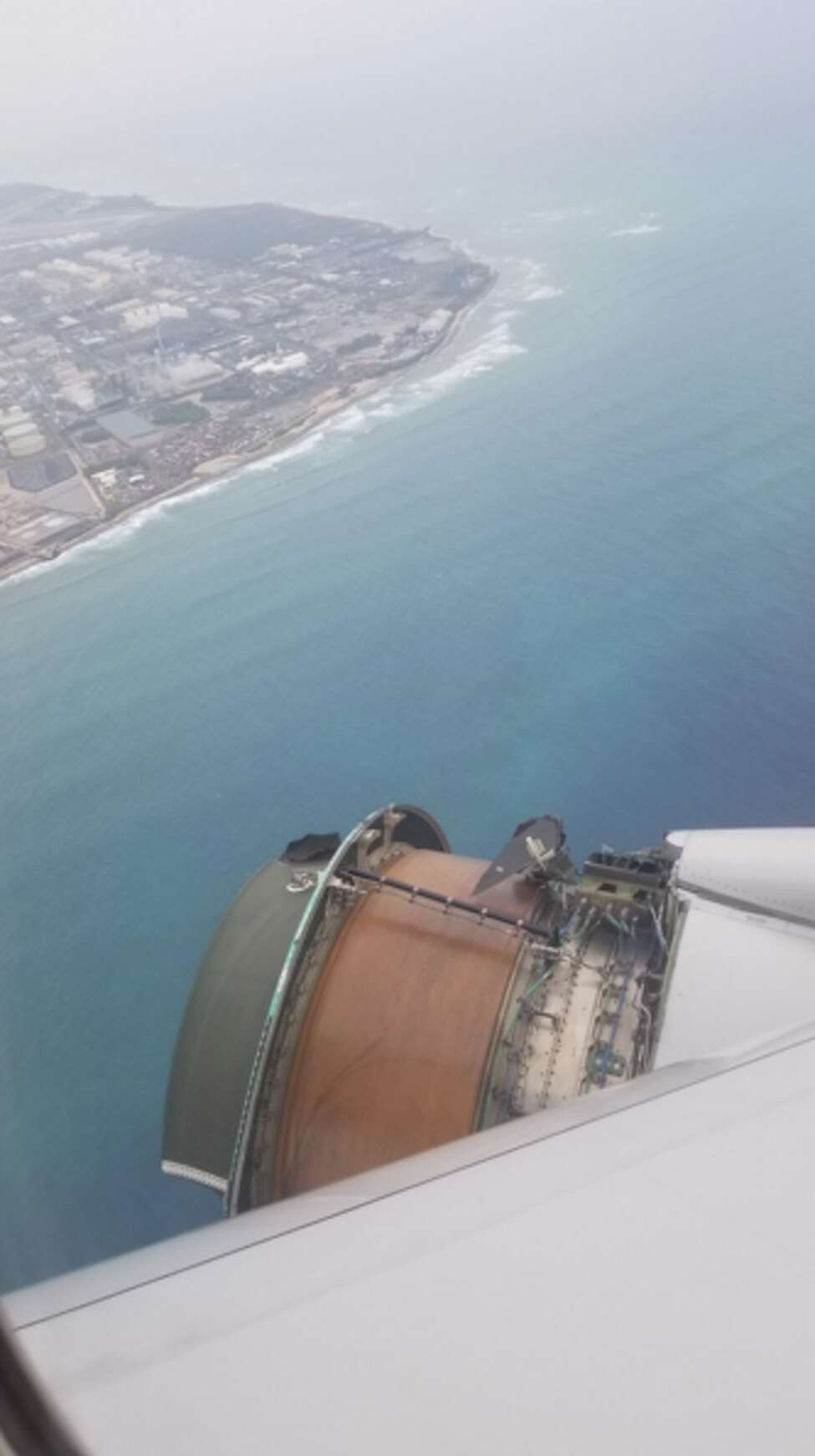 The worst travel horror stories from 2018: United flight from SFO to Honolulu loses engine parts while mid-air in terrifying ordeal A United Airlines plane traveling from San Francisco to Honolulu made an emergency landing after losing parts of an engine while mid-air. Passengers recorded photos and videos depicting the airplane's starboard-side engine exposed, high above the Pacific Ocean. FULL STORY