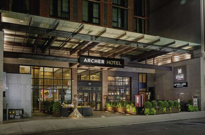 The Archer New York hotel on West 38th Street