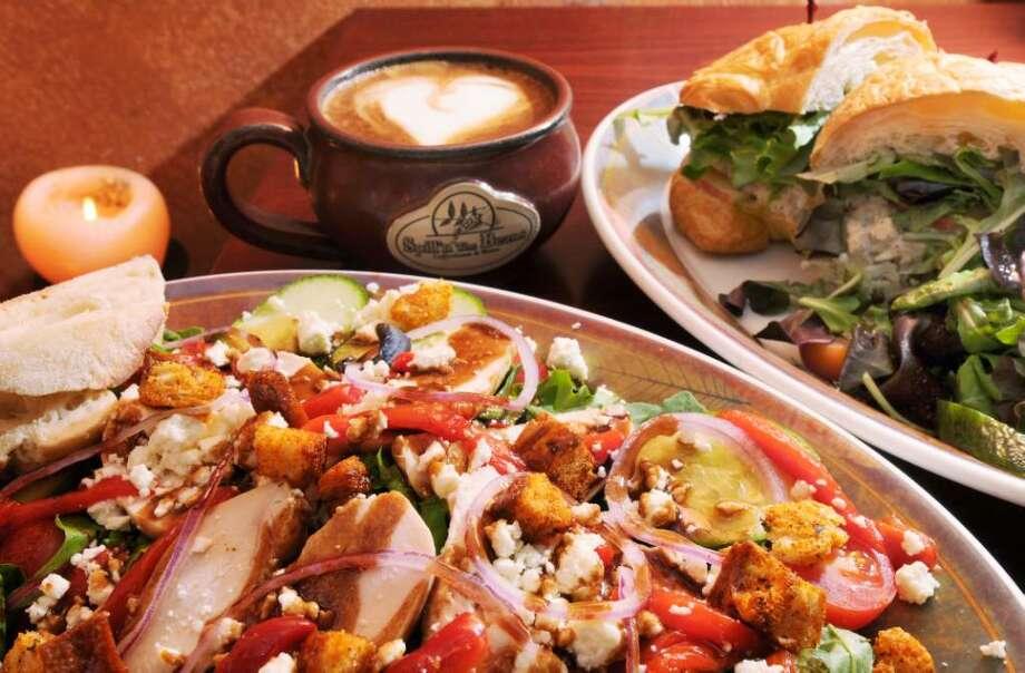 Greek salad (Luanne M. Ferris / Times Union) Photo: LUANNE M. FERRIS