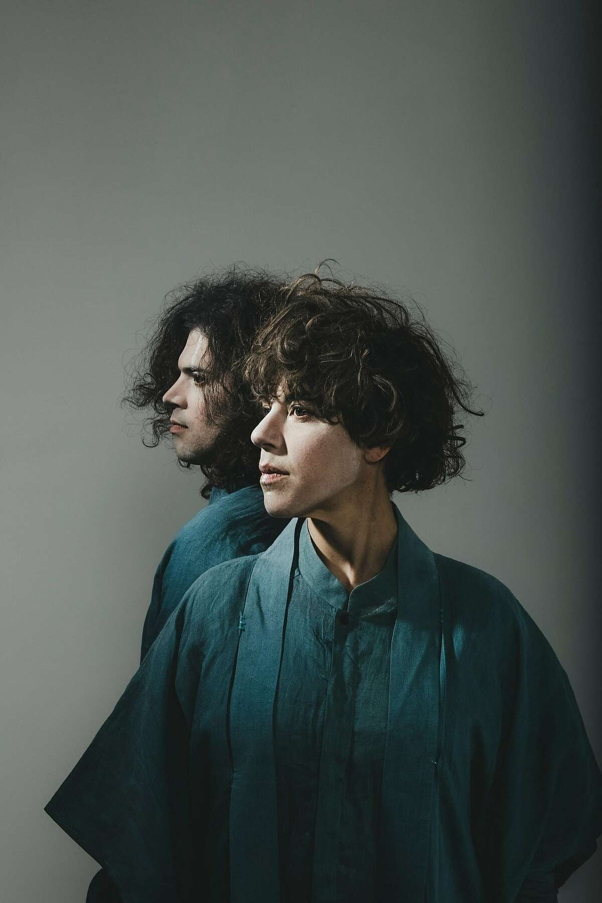 Merrill Garbus and Nate Brenner of Tune-Yards.