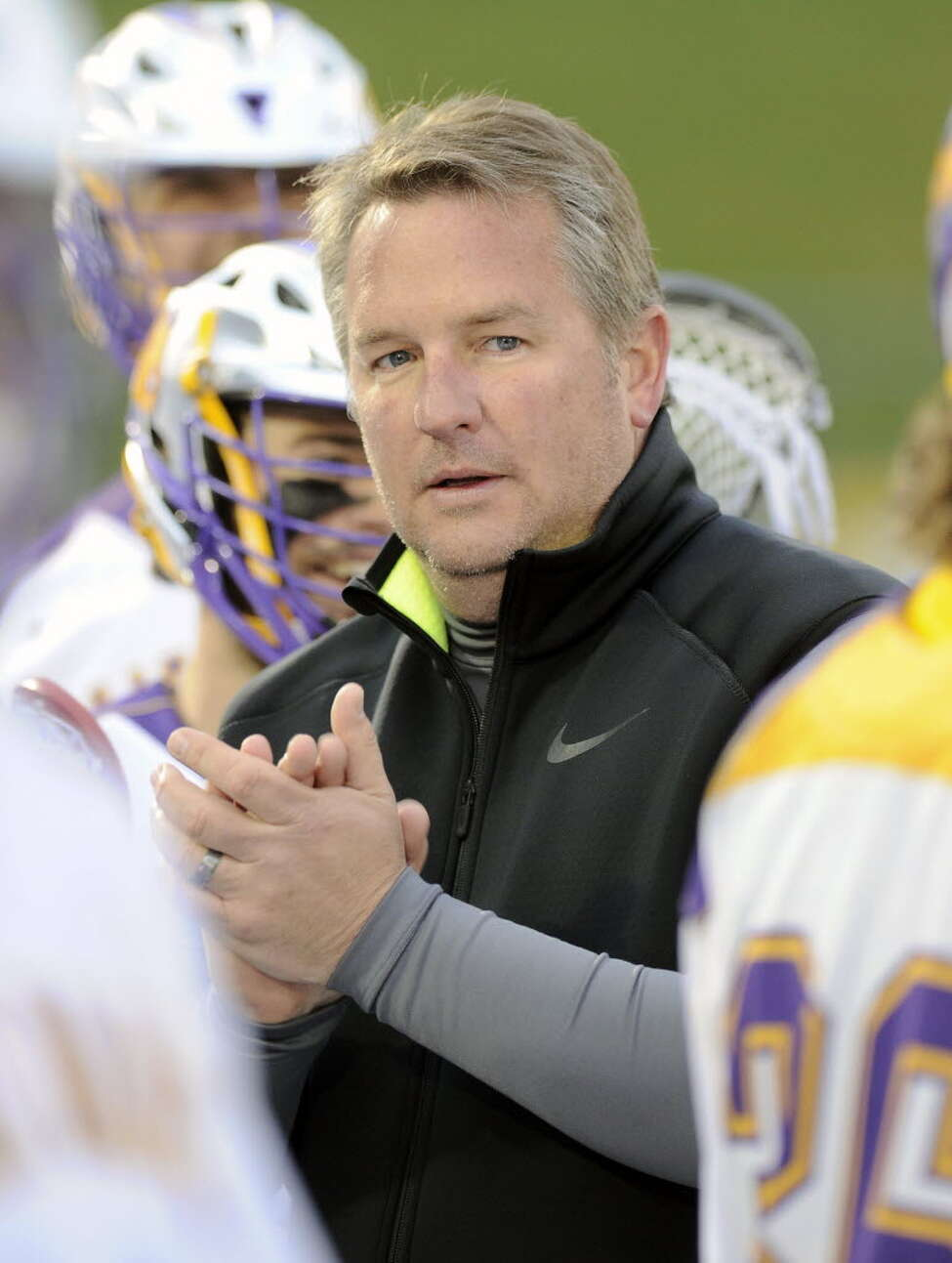 UAlbany head coach Scott Marr worked as a Maryland assistant for six seasons. (Hans Pennink/Special to the Times Union)