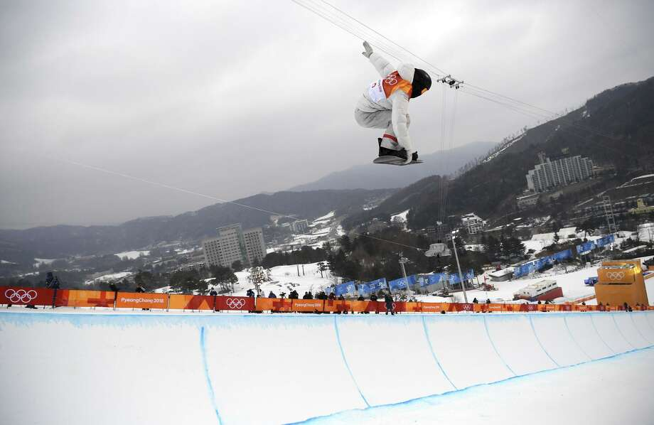 Shaun White of the United States competes in the Snowboard Men's Halfpipe Final on day five of the PyeongChang 2018 Winter Olympics at Phoenix Snow Park on February 14, 2018 in Pyeongchang-gun, South Korea. Photo: Matthias Hangst / Getty Images / 2018 Getty Images