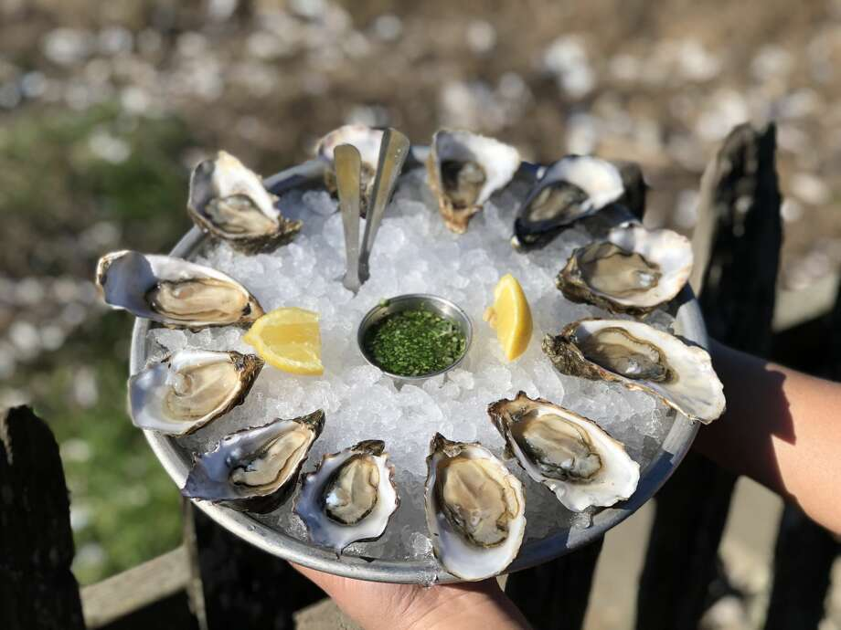 A plate of oysters served at Hog Island Oyster Company in Marshall, Calif. is the result of two years of careful work. Photo: Alix Martichoux / SFGATE