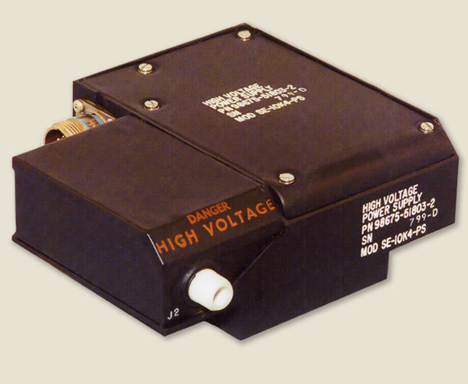 Espey Mfg. makes high voltage power converters like this one used in radar systems in military airplanes. Photo: Espey