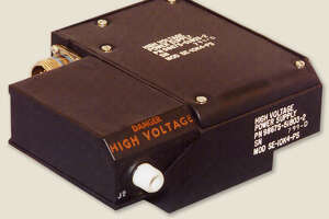 Espey Mfg. makes high voltage power converters like this one used in radar systems in military airplanes.