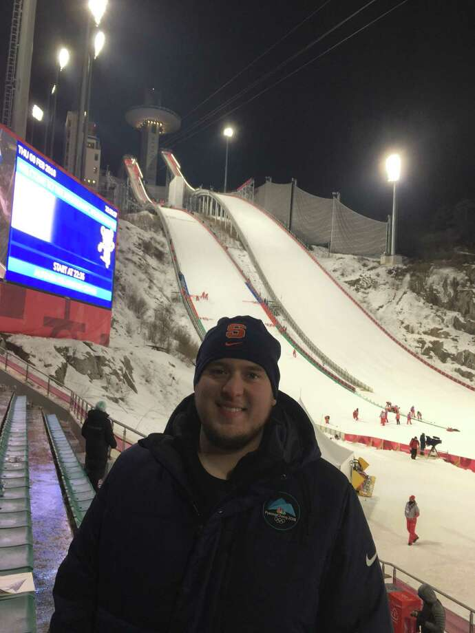 Being at the opening ceremony of the Winter Olympics in PyeongChang, South Korea, will be a moment Ricky Ricco will never forget. Photo: Contributed Photo