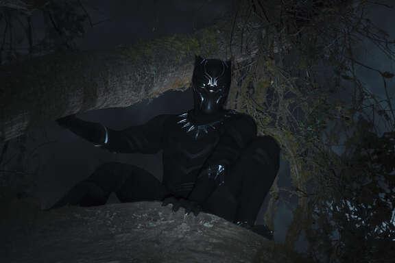 Marvel Studios' BLACK PANTHER  Black Panther/T'Challa (Chadwick Boseman)  Ph: Film Frame  ÂMarvel Studios 2018