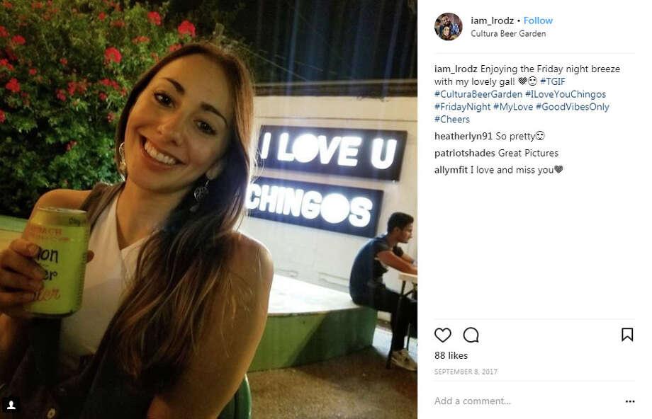 """iam_lrodz: """"Enjoying the Friday night breeze with my lovely gal! Photo: Instagram.com/iam_lrodz"""