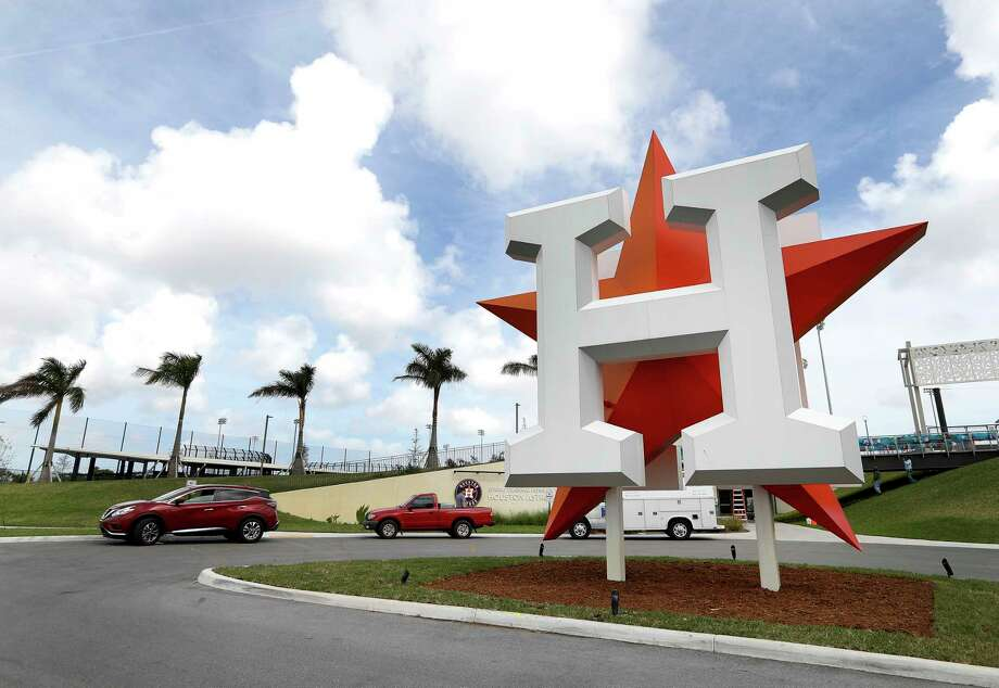 The Astros will host their third spring training in West Palm Beach, Fla., in 2019.  Click through the gallery to see more photos of the complex. Photo: Karen Warren, Houston Chronicle / © 2018 Houston Chronicle