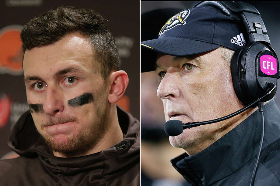 John McClain says the best course of action for Johnny Manziel is to go play for noted offensive guru June Jones with Hamilton of the Canadian Football League.Click through the gallery to revisit Manziel's highs and lows in football. Photo: Houston Chronicle News Services