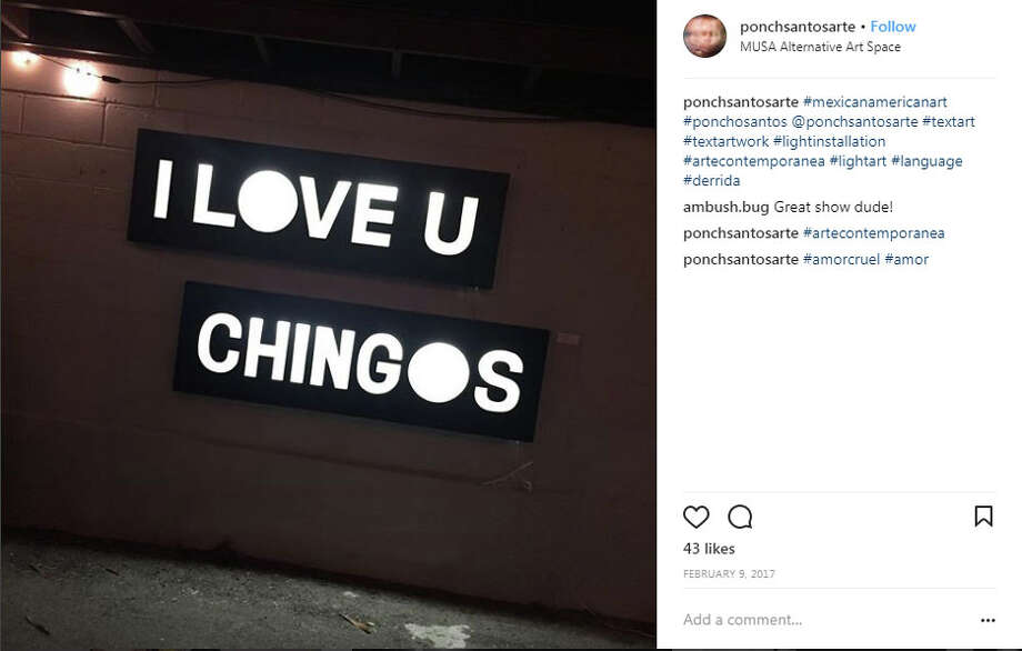 Scroll through the gallery to see Instagram's best moments in front of Laredo's iconic sign.  Photo: Instagram.com/ponchosantosarte