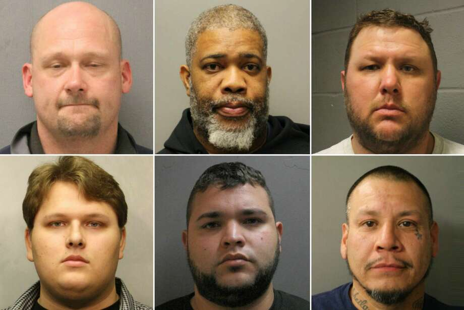 For the second year in a row, the Harris County Sheriff's Office made the most arrests among 30 American law enforcement agencies participating in a prostitution sting leading up to the Super Bowl.The following mugshots were provided by the sheriffs office. The men are innocent until proven guilty.  Photo: Harris County Sheriff's Office