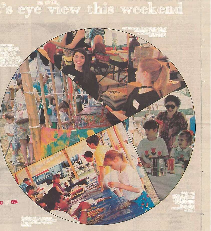 Photos from Kaleidoscope 1995, held at the Art Museum of Southeast Texas on Ninth Street.