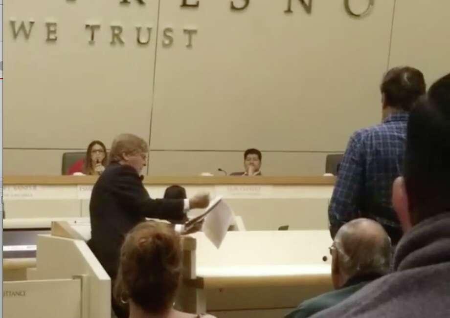 A Fresno man read a series of rap lyrics aloud at a city council meeting to protest a visit from rapper Snoop Dogg (via Instagram @Lenjuardo).Click through the gallery for a guide to festival fashion. Photo: Len Jurado