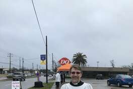 Houston's Good Shepherd Episcopal Church helped nearly 100 people in Friendswood celebrating the start of Lent at a Dairy Queen parking lot Wednesday morning.