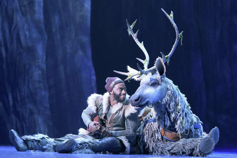 """Frozen,"" the new Broadway-bound musical, stars Jelani Alladin as Kristoff. Photo: Deen Van Meer / Contributed Photo / ©2017 photographer Deen van Meer, all rights reserved, photographer should be credited at all times"