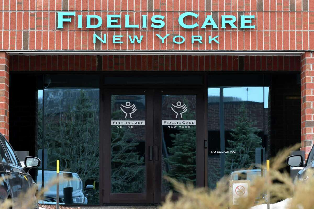 Exterior of the Fidelis Care offices on Wednesday, Feb. 14, 2018, in Colonie, N.Y. Centene has a pending agreement to buy Fidelis Care for $3.7 billion. (Will Waldron/Times Union)