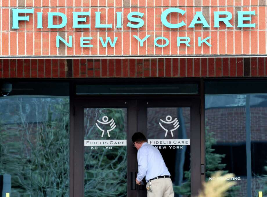 Exterior of the Fidelis Care offices on Wednesday, Feb. 14, 2018, in Colonie, N.Y. Centene has a pending agreement to buy Fidelis Care for $3.7 billion. (Will Waldron/Times Union) Photo: Will Waldron, Albany Times Union