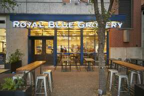 Royal Blue Grocery, a chain of boutique urban markets from Austin, plans to open its first San Antonio location on Houston Street downtown.