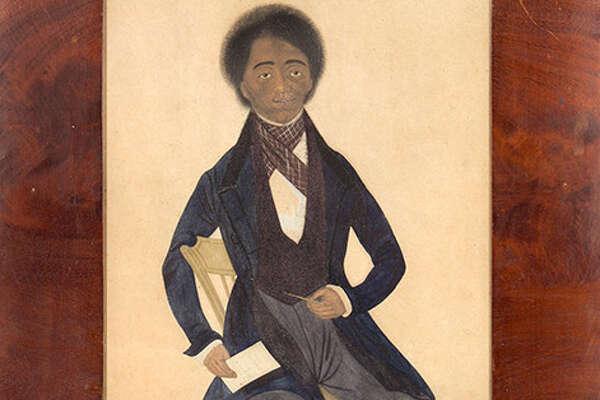 Watercolor portrait of Peter F. Baltimore