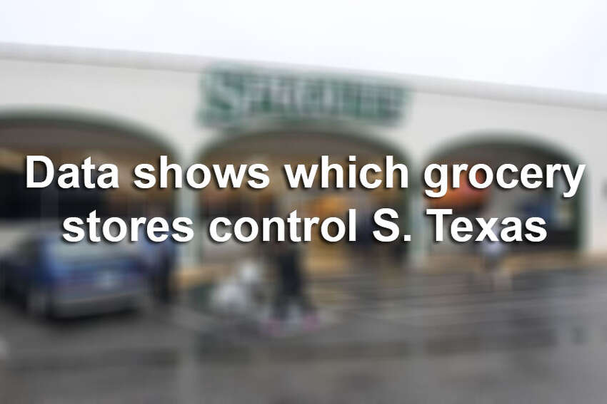 Data from the Shelby Report details which grocery store chain controls the most turf in South Texas. Click through the slideshow to see the ranking.