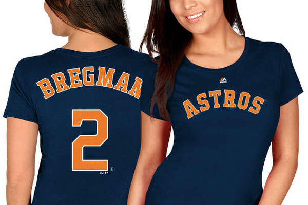 Women's Alex Bregman shirt.