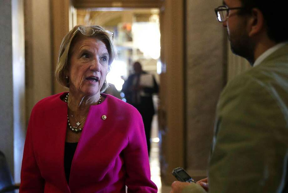 "The Trump White House has ""to be stronger, more consistent, clearer in the message"" to women, said West Virginia Republican Sen. Shelley Moore Capito. Photo: Alex Wong, Getty Images"