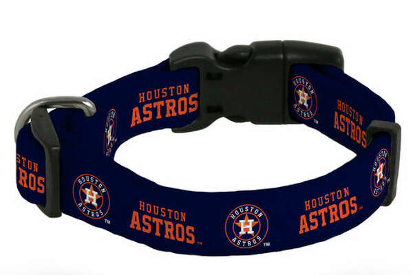 Astros pet collar
